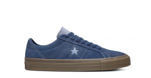 One Star Pro Washed Suede Low Top Navy