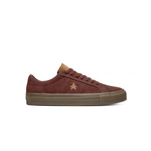 One Star Pro Washed Suede Low Top Barkroot Brown