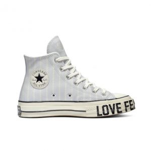 Chuck Taylor All Star '70 Love Fearlessly Leather High Top Photon Dust