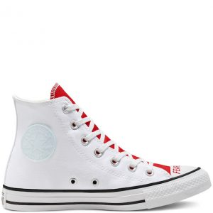 Chuck Taylor All Star Love Fearlessly Canvas High Top White